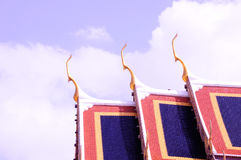 Roof of wat Stock Photography