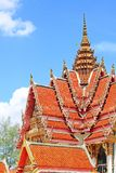 Roof of Wat Hat Yai Nai, Hatyai, Thailand Stock Photography