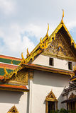 Roof of Wat Phra Kaew, Temple of the Emerald Buddha, Bangkok, Th Stock Image
