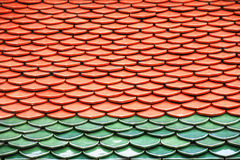Roof of Wat Phra Keaw Royalty Free Stock Photos