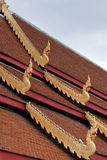 Roof of Wat Phra Sing; Thailand Royalty Free Stock Image