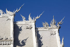 Roof Wat Rong Khun Chiangrai Stock Photos