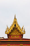 The roof of wat thai in Chiang Rai Royalty Free Stock Photos