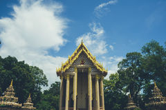 The Roof Wat Thai Royalty Free Stock Images