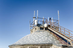 Roof of a Weather Station Royalty Free Stock Photo