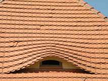 Roof with window Royalty Free Stock Images