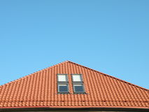 Roof and window Royalty Free Stock Photos