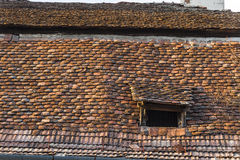 Roof and windows Stock Photos