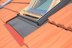 Roof windows Royalty Free Stock Photography