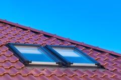 Roof windows Stock Image