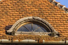 Roof and windows Royalty Free Stock Photography