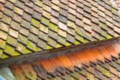 Roof and windows Stock Photo