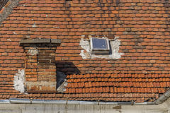 Roof and windows Stock Image