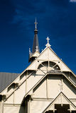 Roof Of The Wooden Church Stock Image