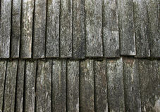 Roof wooden old Royalty Free Stock Photos