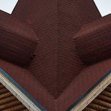 The roof of wooden Orthodox church. Royalty Free Stock Photo