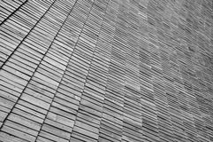 Roof wooden tile Royalty Free Stock Photography