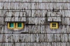 Roof wooden window Stock Photos