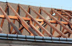 Roof works Royalty Free Stock Photo