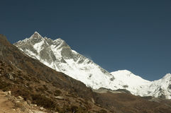 The roof of the world, Lhotse Royalty Free Stock Photo