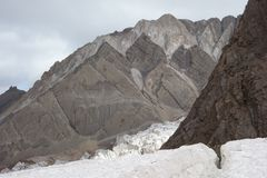 The roof of the world. Pamir temple. Royalty Free Stock Image