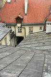 Roof yard well Royalty Free Stock Photos