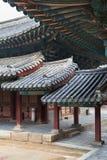 Roofed corridor in Changgyeonggung. Royalty Free Stock Image