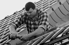 Roofer Stock Images
