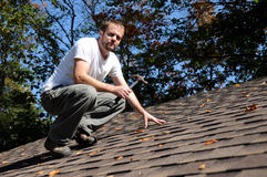 Roofer Stockfoto
