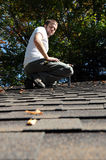 Roofer Royalty Free Stock Photography