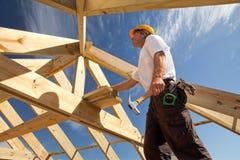 Roofer Immagine Stock Libera da Diritti