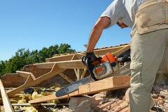 Roofer 6 Стоковая Фотография