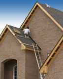 Roofer Royalty Free Stock Images