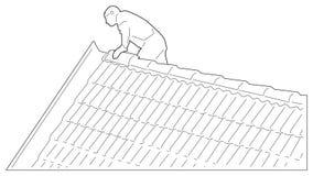 Roofer Immagini Stock