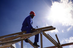 Free Roofer Cu Royalty Free Stock Image - 926426