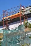 Roofers работают в высоте Стоковые Изображения