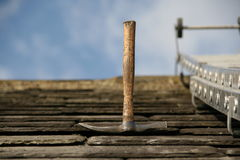 A roofers pick royalty free stock image