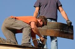 roofing Foto de archivo libre de regalías