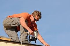 roofing Imagen de archivo libre de regalías