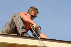 Roofing Royalty Free Stock Photos