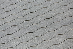 Roofing close up. Background gray Royalty Free Stock Photos