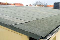 Roofing felt Stock Photo
