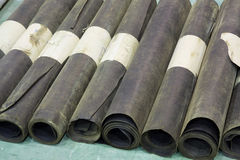 Roofing material Stock Image