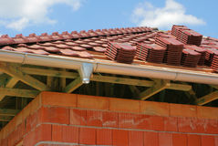 Roofing material Stock Photo