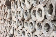 Roofing material ruberoid Royalty Free Stock Photography