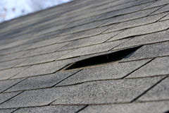 Roofing Problems Royalty Free Stock Photography