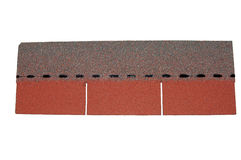 Roofing shingle Stock Image