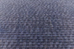 Roofing shingle. A typical roofing shingle pattern in day time royalty free stock images