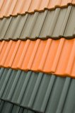 Roofing shingles Royalty Free Stock Image