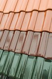 Roofing shingles Stock Images